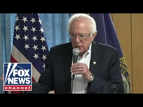 Bernie Sanders tells crying baby to 'keep that down'