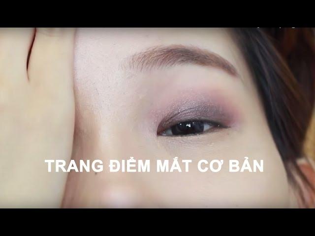 RƯ MAKEUP ♡ CÁCH TRANG ĐIỂM MẮT VẼ MẮT CƠ BẢN CHO NGƯỜI MỚI BẮT ĐẦU - Beginner Eye Makeup