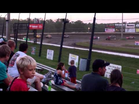 Deer Creek Speedway Street Stock Feature 6-9-2012 Mike Blowers