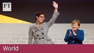 Close Merkel ally elected leader of Germany's CDU