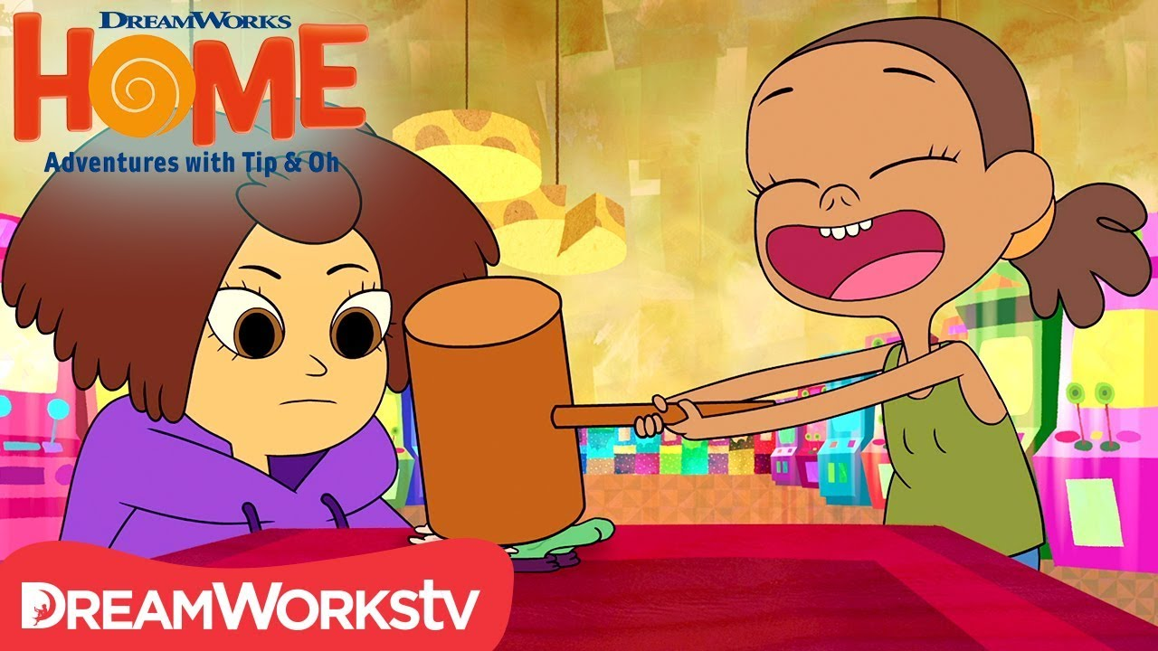 dreamworks home adventures with tip and oh cast