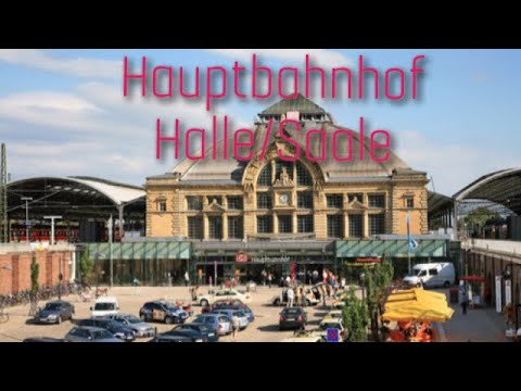 halle saale hauptbahnhof youtube. Black Bedroom Furniture Sets. Home Design Ideas