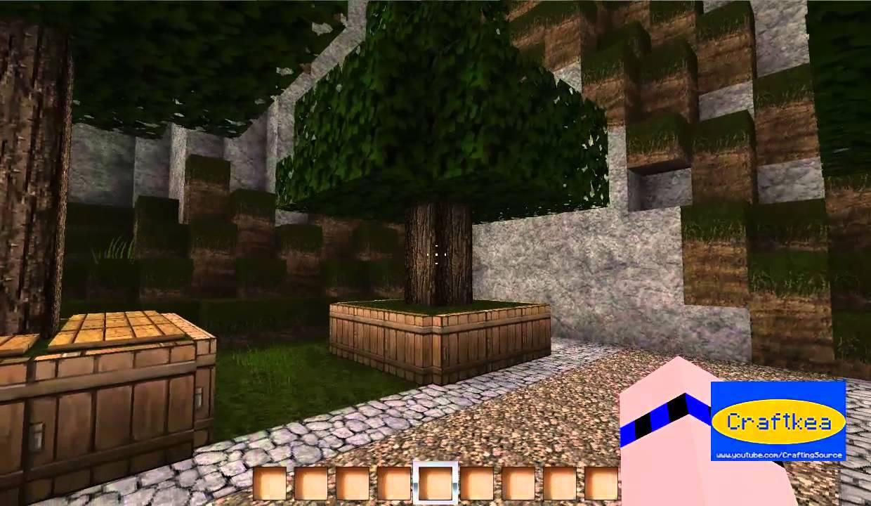 Craftkea Bäume Verschönern Minecraft Folge YouTube - Minecraft hauser verschonern