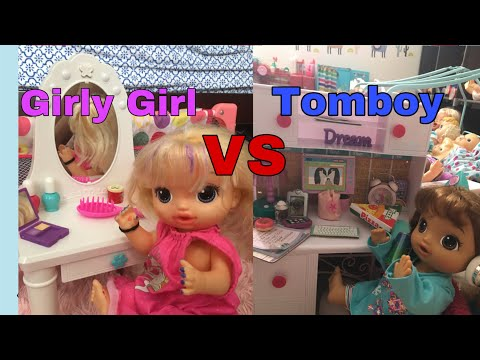 baby-alive-tomboy-vs-girly-girl-night-routine-/-fan-mail