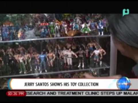 [NewsLife] Hobby Life: (Part 2) Jerry Santos shows his toy collection [08 25 14]