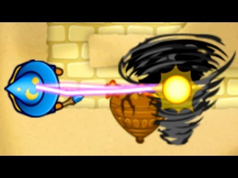Tornado Wizard Saves The Day Again... Or Not (Bloons TD Battles)