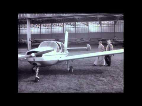 Ghent Airfield - DASKA filmaktualiteiten - 1976 GAC opendeur & 1979 16 jarige pilote
