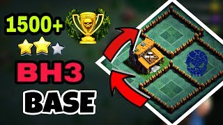 Clash Of Clans - Builder Hall 3 (BH3) Base / ANTI 2 STAR BH 3 TROLL BASE / 2017