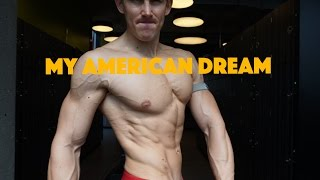 My American Dream - 5 Weeks out / almost Full Day of Eating / Push Training / Macros