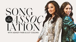 Lily Collins and Ashley Park Sing Taylor Swift, Cher, & More in a Game of Song Association | ELLE