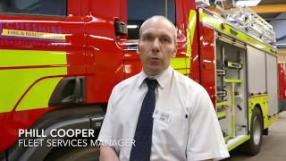 New Fire Engines for Cheshire Fire and Rescue Service