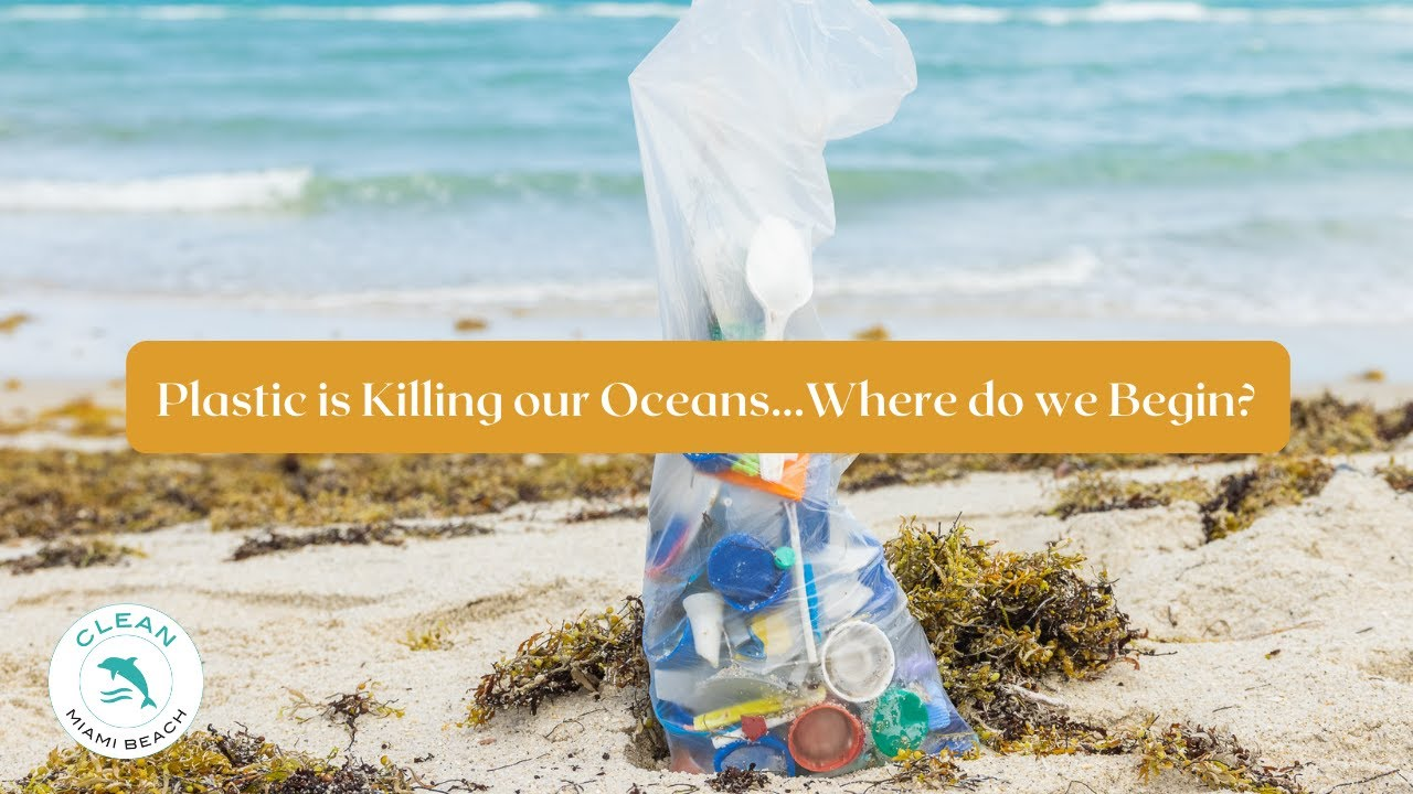 Plastic is Killing our Oceans...Where do we Begin? || Clean Miami Beach
