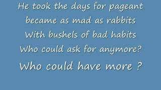 Mad as Rabbits Lyrics , Panic! at the disco thumbnail