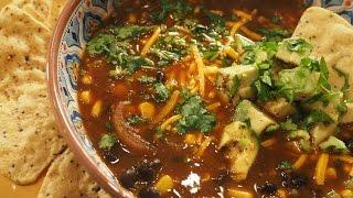 Black Bean Soup  Vegan Gluten-free  AUMcuisine