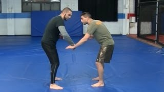 Simple and effective takedown for BJJ Fighters - Coach Firas Zahabi