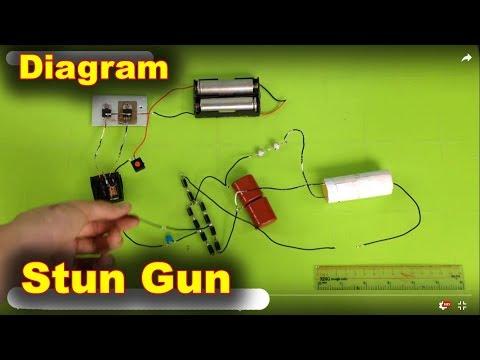 Stun Gun Circuit Schema Diagram