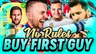 FIFA 20: LIONEL MESSI Buy First Guy Vs NoLeakGaming 😱🔥 NO RULES Edition 🔥