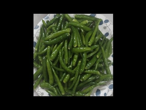 How To Store Green Chillis #Shorts