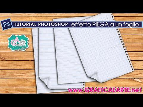 Effetto Piega Sui Fogli - Tut.Photoshop 129