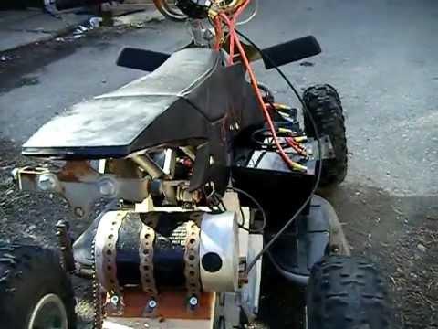 Pocketbike Mini Atv Diy Electric 39 Kmh Pushing 48 Volts