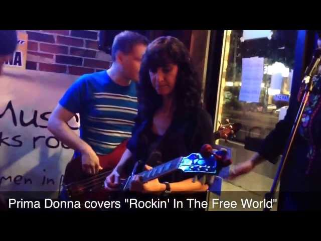 "Prima Donna covering ""Rockin' in the Free World"" at the GoGirlsMusic Showcase @ (DBMC)"