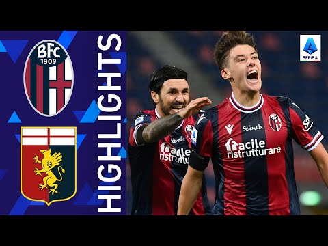 Bologna Genoa Goals And Highlights