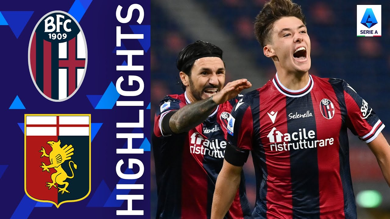 Download Bologna 2-2 Genoa | At the Dall'Ara it ends in a draw! | Serie A 2021/22