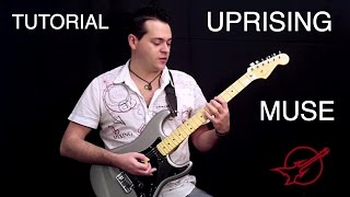 Aprende a tocar Uprising de Muse en la guitarra