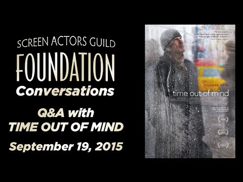 Conversations with Richard Gere and Oren Moverman of TIME OUT OF MIND