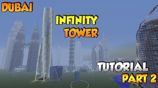 Minecraft Infinity/Cayan Tower Tutorial Part 2 - XBOX/PS3/PC