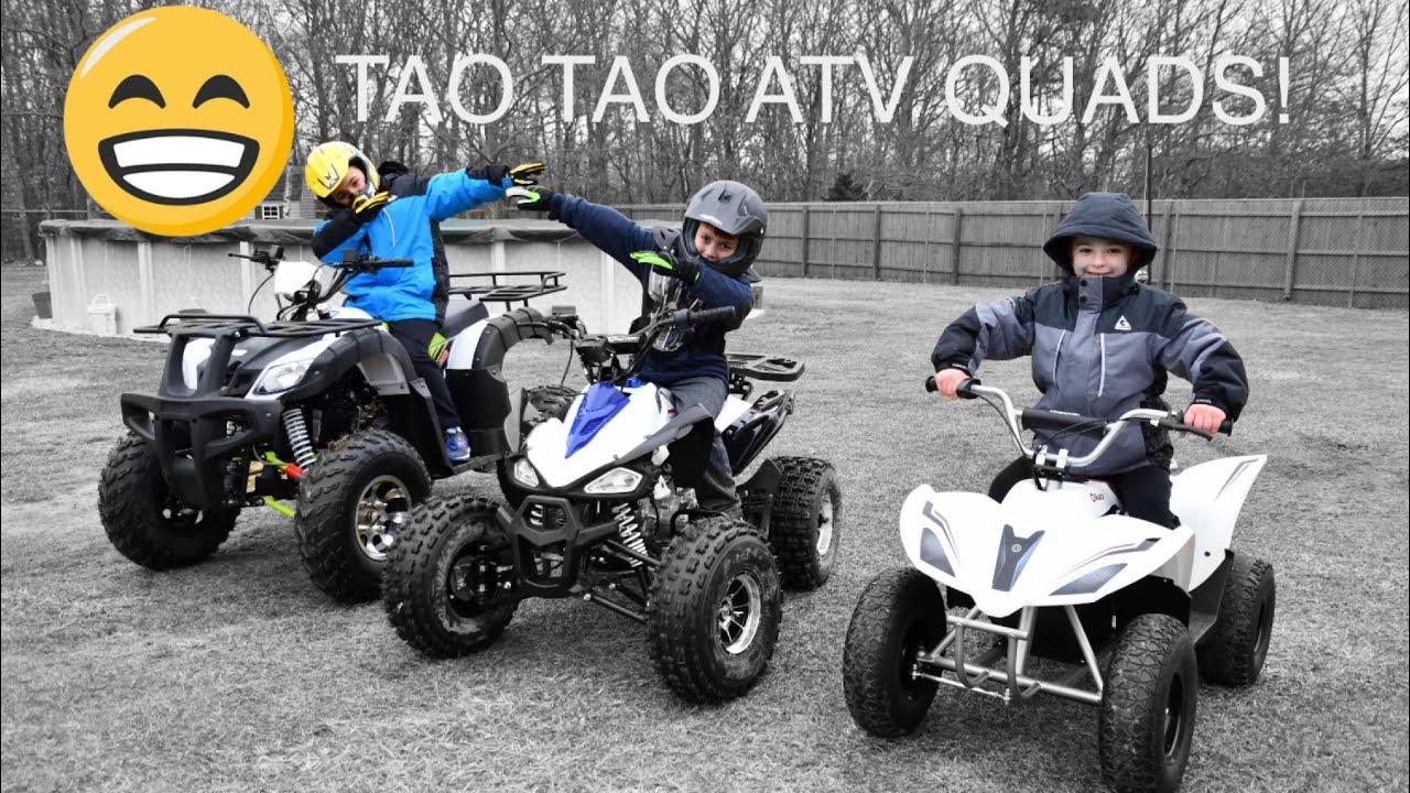 TAO TAO BULL 200, TAO TAO CHEETAH 125, RAZOR 500 ATV QUADS