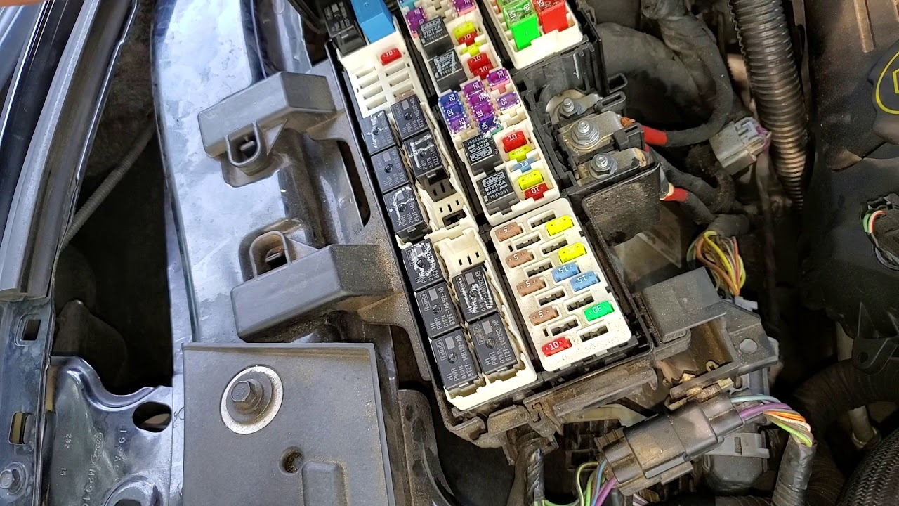 2016 Mustang AC Fuses & Relays, Blower Motor HVAC Fuse Locations - YouTube | Hvac Fuse Box Wiring |  | YouTube