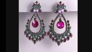 Imitation Jewellery Earrings.wmv Thumbnail