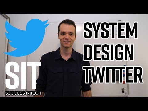System Design: How to design Twitter?  question at Facebook, Google, Microsoft