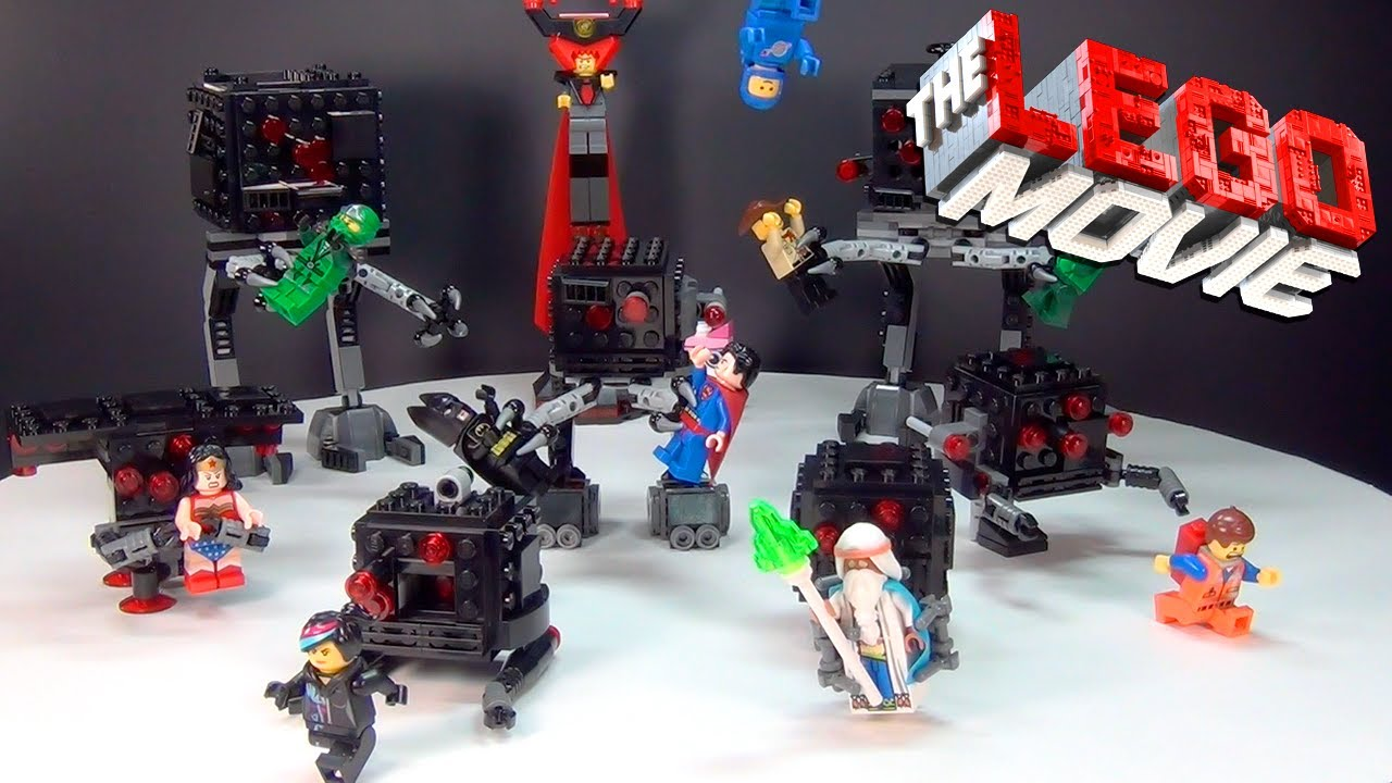 Lego Movie Who Will Save The Day Brickqueen Youtube