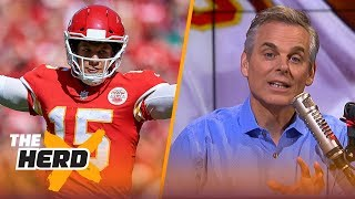 Colin Cowherd reacts to Patrick Mahomes' MNF win over Broncos, New NFL rules | NFL | THE HERD