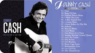 Johnny Cash Greatest Hits Full Album 2018  - The Very Best of Johnny Cash