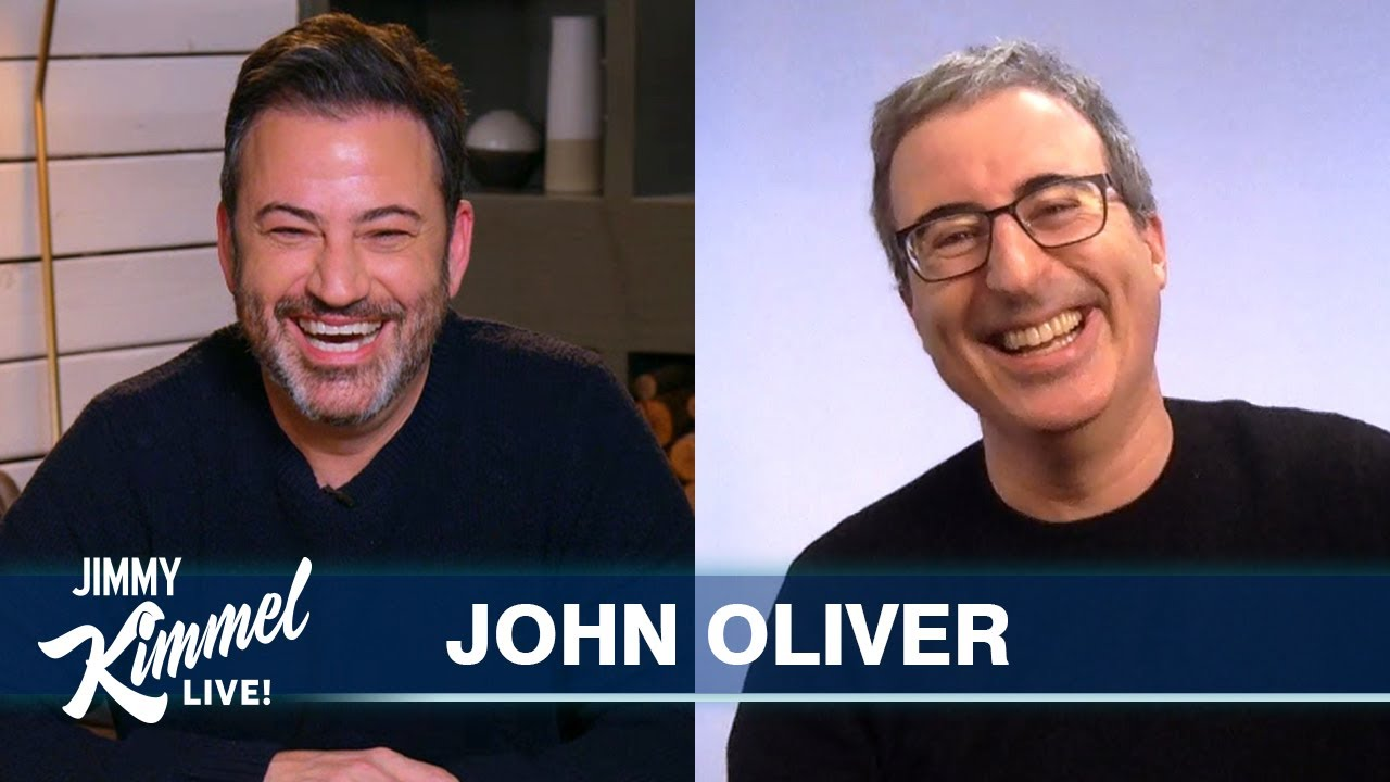 John Oliver on Biden's Inauguration, Trump's Bizarre Departure & Becoming a U.S. Citizen