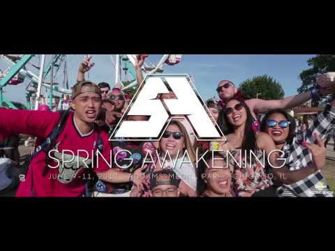 Spring Awakening Music Festival 2017 | Official Phase One Lineup