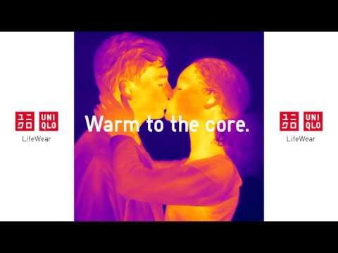 UNIQLO HEATTECH. Warm to the core.