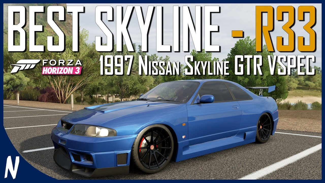 nissan skyline r33 gtr | forza horizon 3 | extreme s1 tuning guide