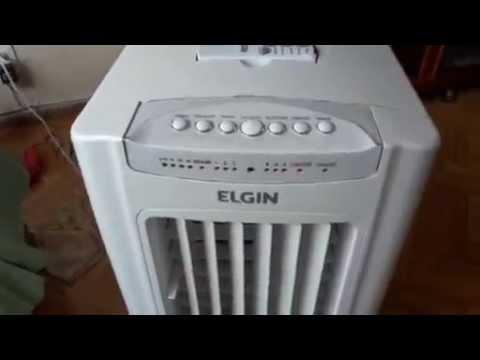 climatizador Elgin 7,5l com barulho - solução