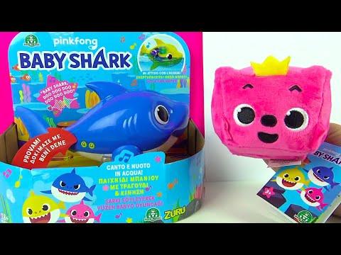 Baby Shark şarkı Söyleyen Oyuncak Peluş Baby Shark Düt Düt Düt Düt çocuk şarkısı Banyo Oyuncağı