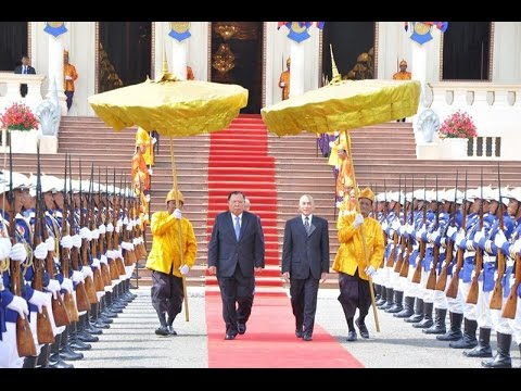 2017 FEB 22 Official Welcoming Ceremony for Lao President