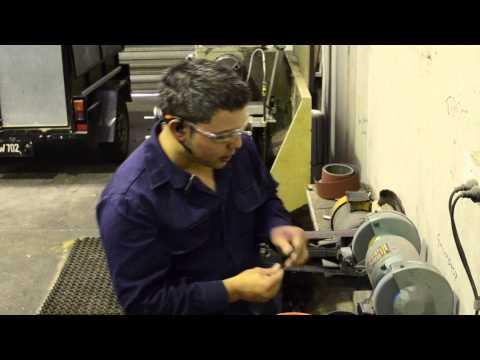 Sharpening a drill bit - MIGM Engineering