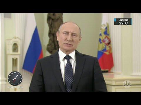 Rússia expulsa 23 diplomatas britânicos às vésperas da eleição | SBT Brasil (17/03/18)