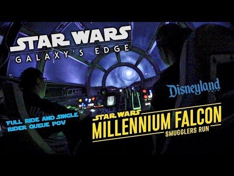 millennium-falcon-smugglers-run-star-wars-galaxy's-edge-disneyland-full-pov-with-single-rider-queue