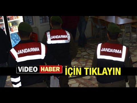MİLAS'TA JANDARMA'DAN EŞ ZAMANLI OPERASYON...