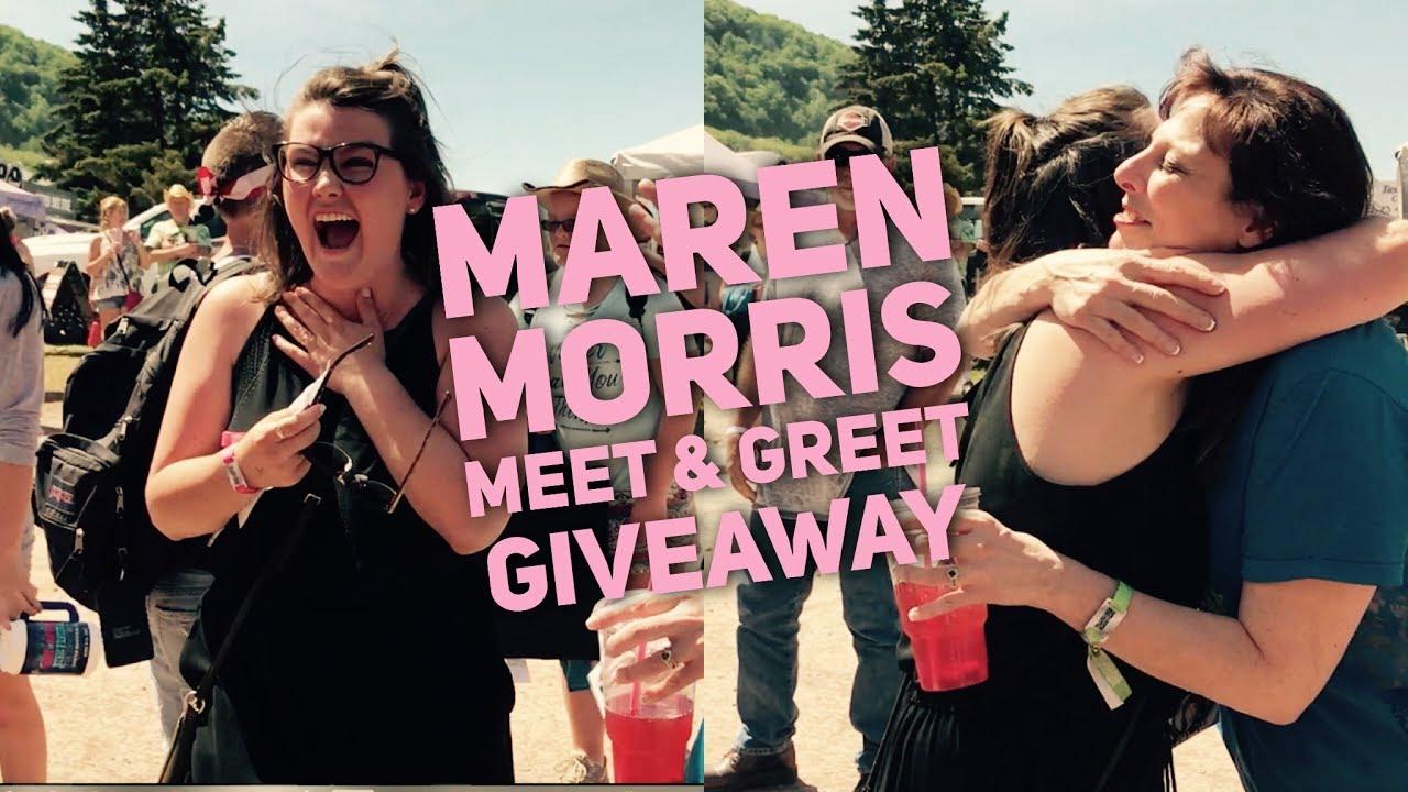 Linda g sends a fan to meet maren morris at taste of country youtube linda g sends a fan to meet maren morris at taste of country m4hsunfo