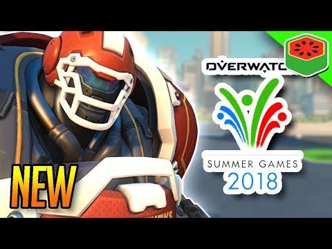 NEW SUMMER GAMES 2018 UPDATE!   Overwatch